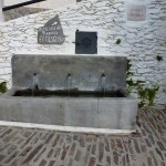 Water Fountain in The Village of Pampaneira Las Alpujarras Granada Spain