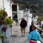 Time to go back down Pampaneira Las Alpujarras Granada Spain