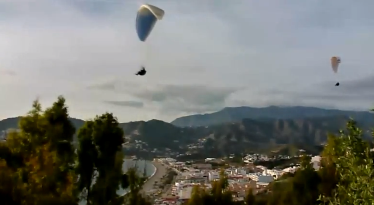 Paragliding - La Herradura, Spain