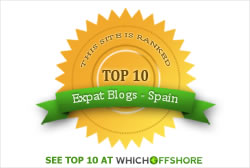 Top 10 Expats Blog Spain!