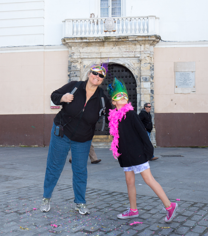 Living Abroad in Spain and going to Carnaval in Cádiz