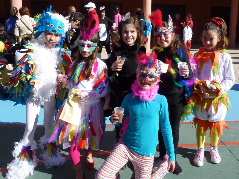 Carnival at School in Almuñécar