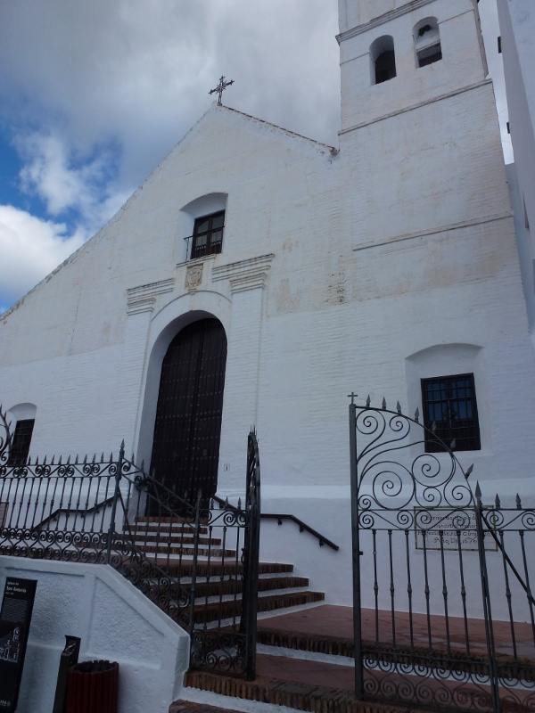Frigiliana church