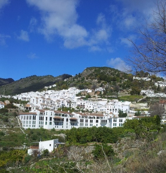 Nestled in the hills above Nerja is Frigiliana Spain