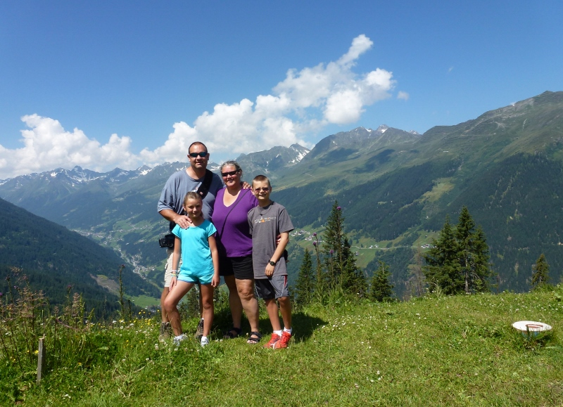 Family Travel Blog - Wagoners Abroad in See, Austria