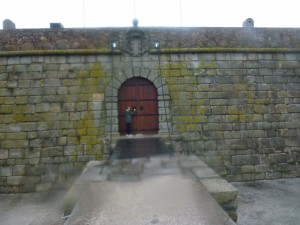 Cool Fort in Porto Portugal