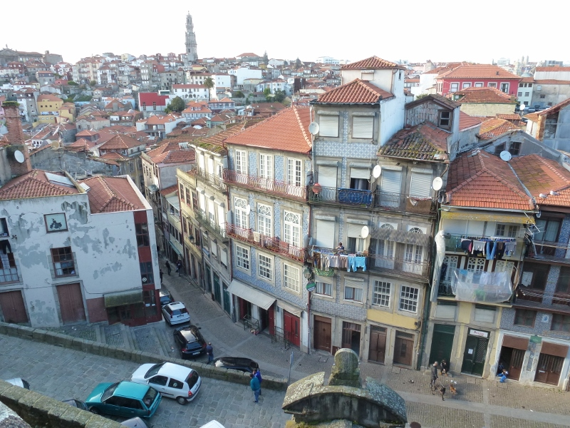 Walking around Porto Portugal