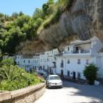 The streets of Setenil de las Bodegas