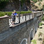 Walking into town Setenil de las Bodegas