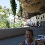 Cafe along the road- Setenil de las Bodegas