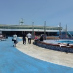 Deck bar and pool