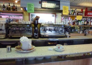 Italy pit stop -cappuccino