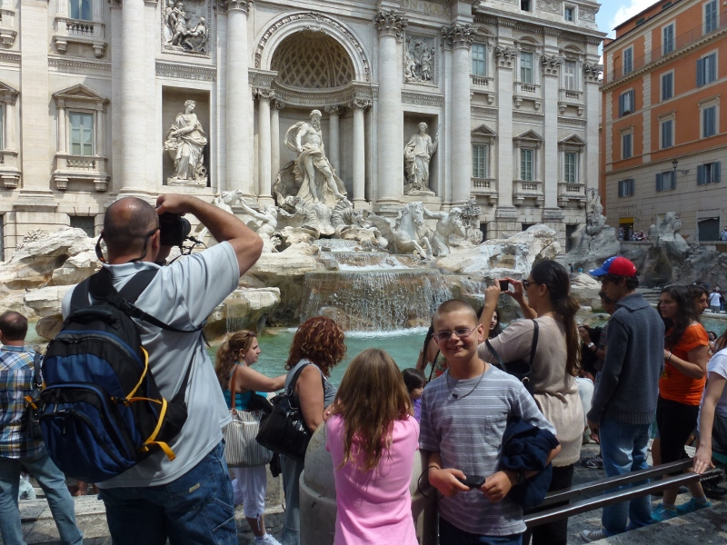 To Do in Rome - Trevi Fountain