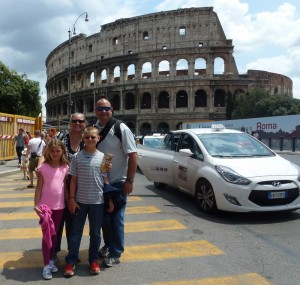 family travel Italy - Rome