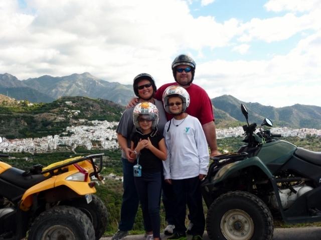Frigiliana Spain - Quad Bikes Wagoners Abroad