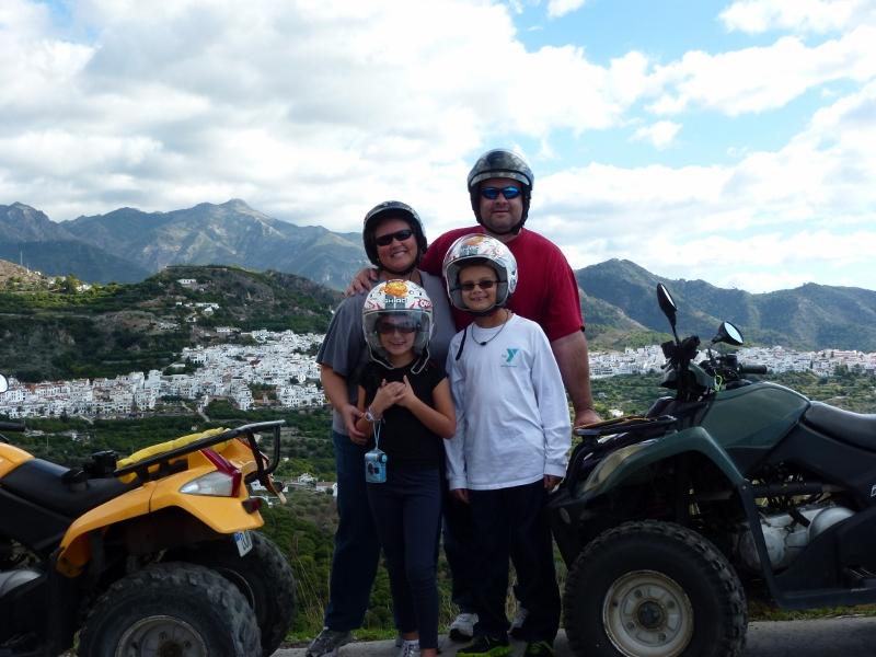 Quad Bike Tour Frigiliana Spain