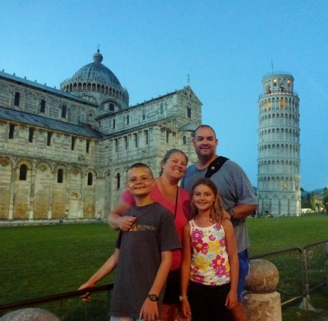 Wagoners Abroad in Pisa Italy