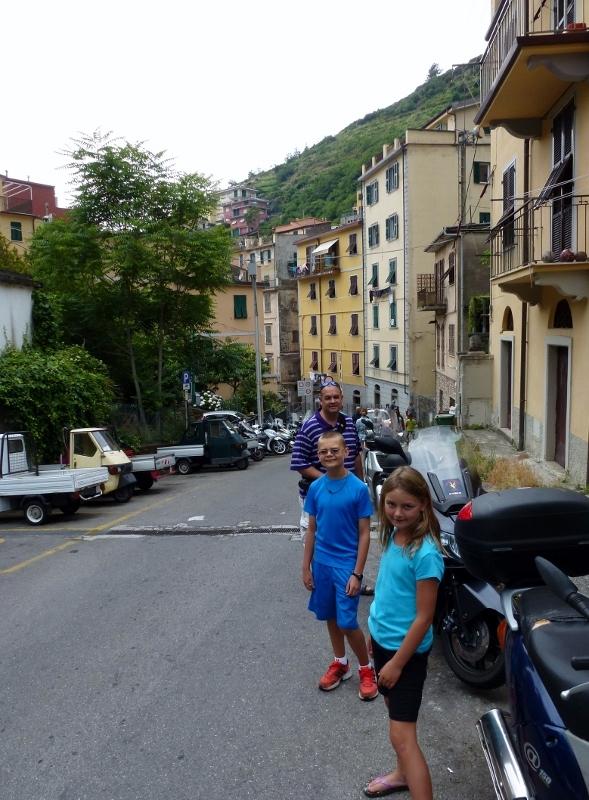 Riomaggiore - Southern most village of Cinque Terre