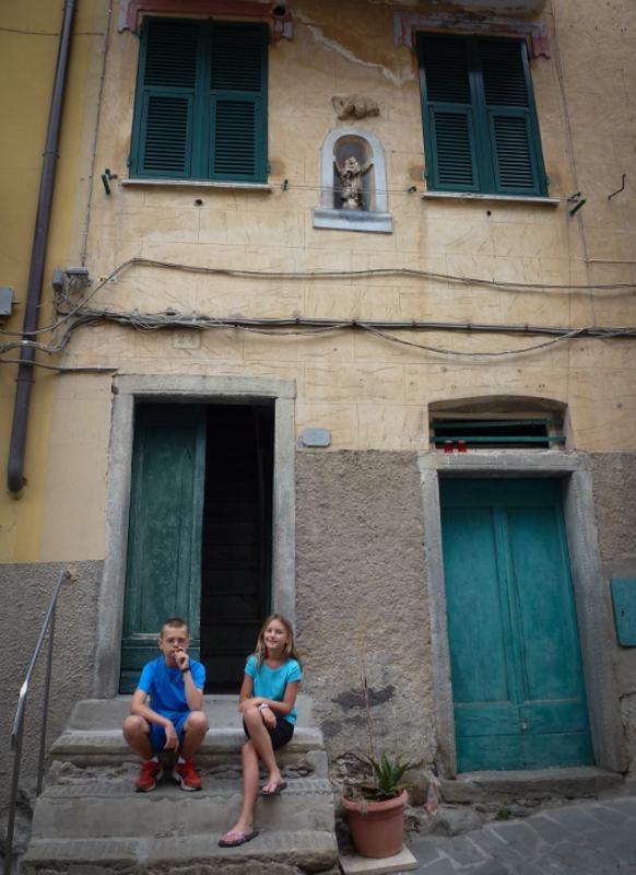 Riomaggiore - Cinque Terre Facade