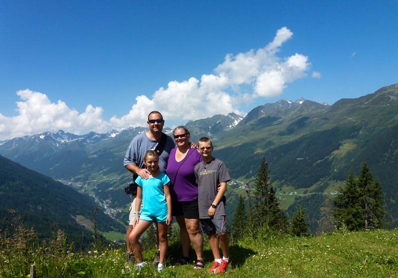 Austrian Tyrolean Mountains