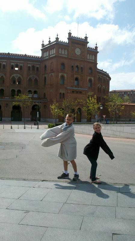 Madrid Spain - Plaza de Toros 2 WagonersAbroad