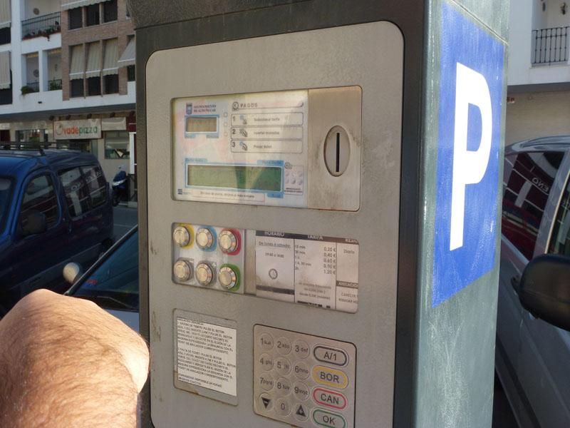 Spanish Parking Meter