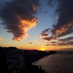 Almuñécar sunrise over San Cristóbal Beach