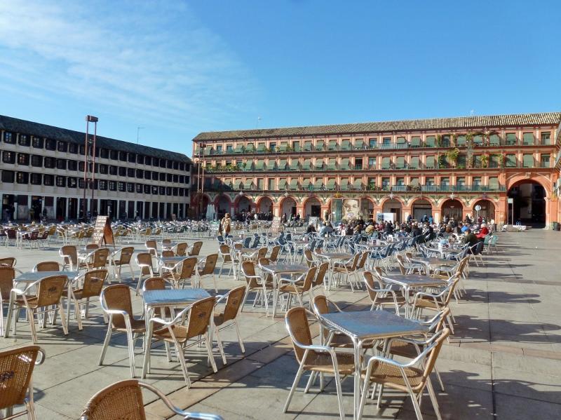 Plaza de la Corredera Córdoba Spain