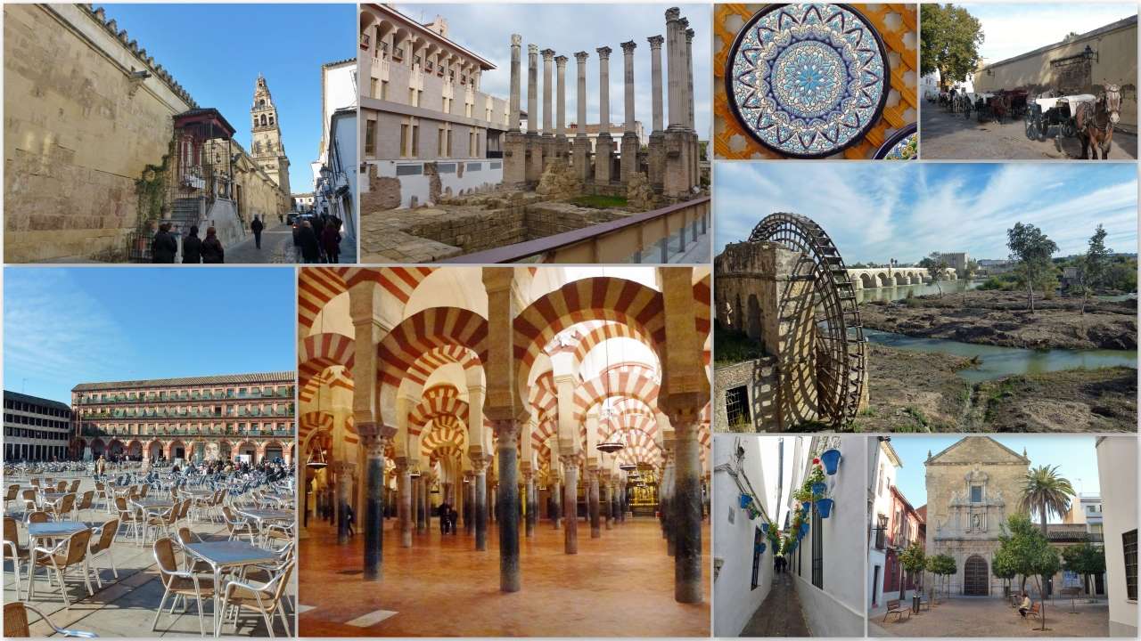 Córdoba Spain Collage