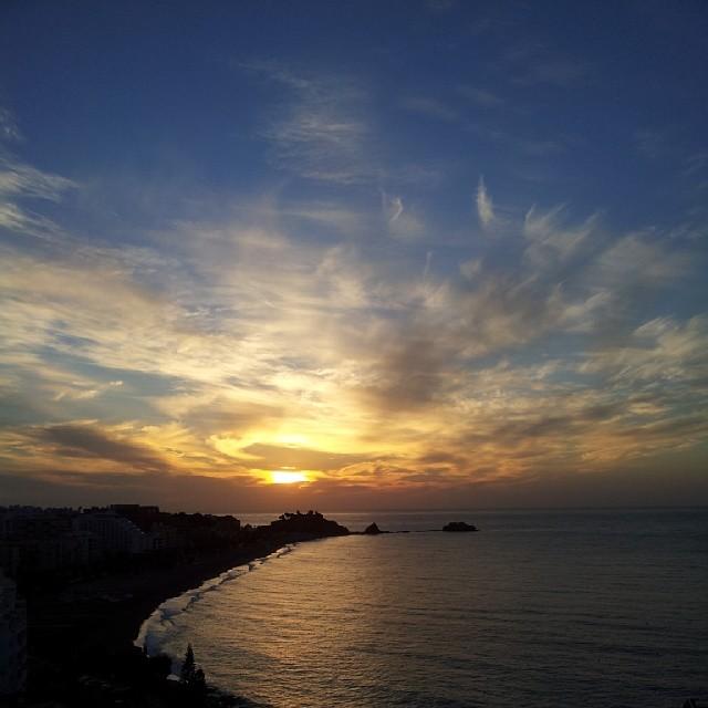 Sun Rise Almuñécar  12-12-13  Instagram