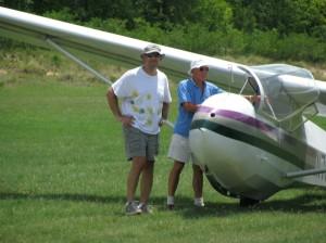 Glider flight South Carolina