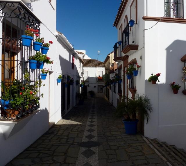 Estepona Spain - December 2013 Costa del Sol