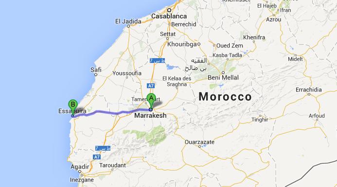 Actual 1 week Itinerary in Morocco Essaouira