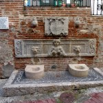 Almuñécar Spain - Fountain in old town