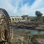 Cordoba Spain - Roman Bridge and water wheel