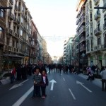 Granada Spain - Three Kings Procession Main Route