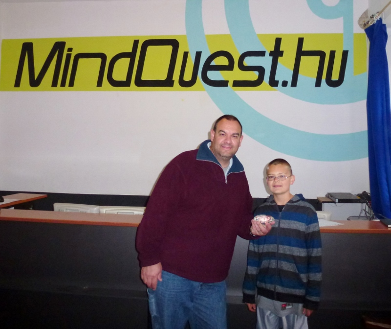 Mindquest Budapest Hungary - The diamond heist was a success