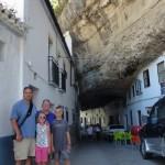 Setenil de las Bodegas Sentinal de las Bodegas Spain - City built into Rocks