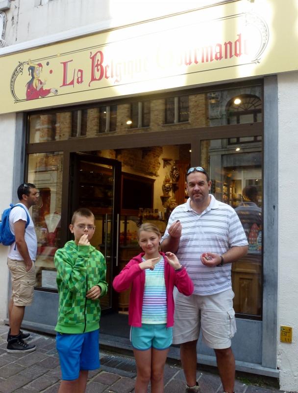 Bruges Belgium Sweets Galore