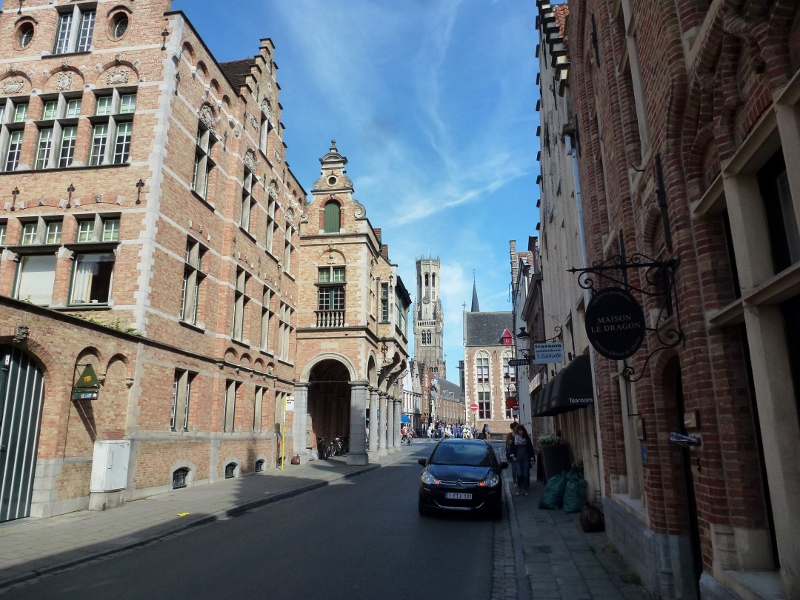 Bruges Belgium streets