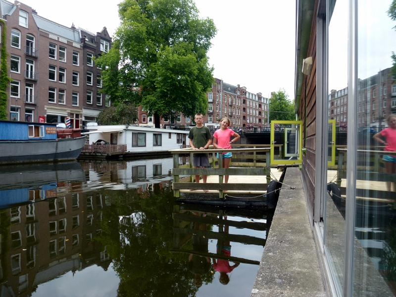 Canal Living Amsterdam our floating deck