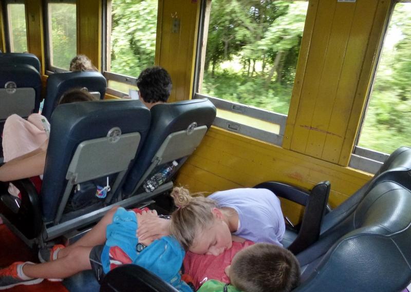 Train Bangkok to Chiang Mai an extra nap