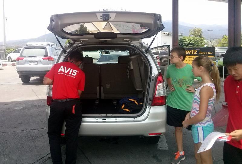 Avis Thailand Rental Car