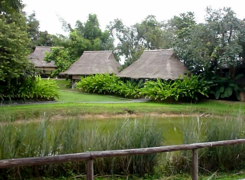 Gorgeous landscape at Poo Poo Paper Park Chiang Mai Thailand