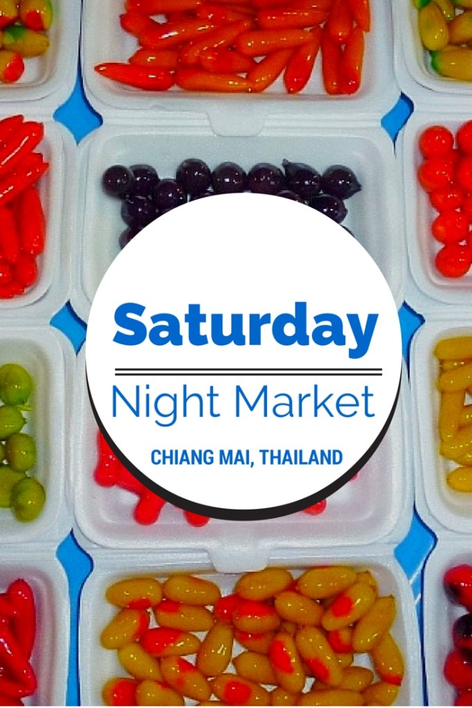 Saturday night market Chiang Mai