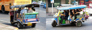 Tuk-Tuks in Thailand