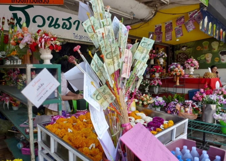 Chiang Mai on a stick money