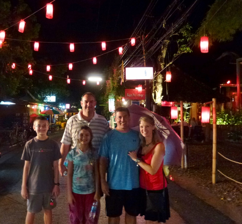 Pai Thailand - Around Town with Randy and Lori