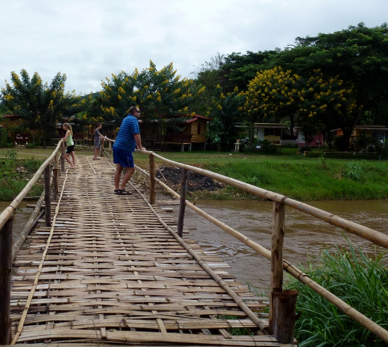 Pai Thailand - Around Town Bamboo Bridge