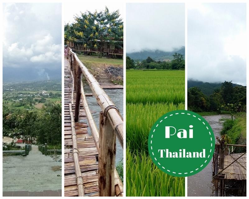 Pai Thailand Collage